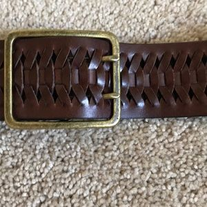 LOFT Accessories - Ann Taylor loft braided leather belt
